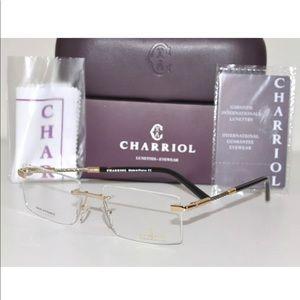 Charriol Rimless Eyeglasses PC75035 Gold/Silver 56